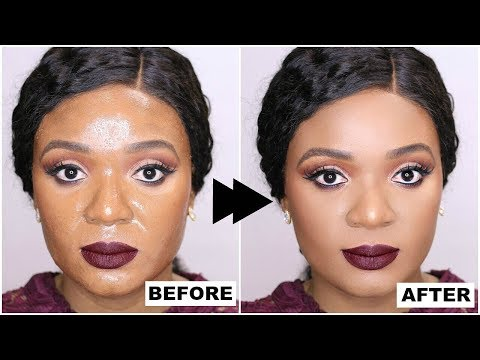 OILY SKIN? THIS TRICK WILL CHANGE YOUR LIFE ( BEST FOUNDATION ROUTINE FOR OILY SKIN ) | OMABELLETV