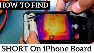 iPhone 6 Plus Logic Board Repair - Find Short circuit On PP_VCC_MAIN Rail With Flir Thermal Imager