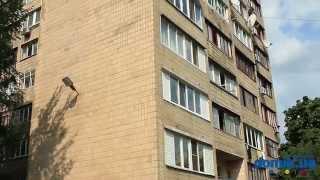 Молдавская, 5А Киев видео обзор(Дом по улице Молдавской, 5А. Кирпичный 9-этажный дом гостиничного типа. На фасаде видны обрушения облицовочн..., 2014-09-21T12:56:16.000Z)