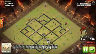 GoboDragLoon   Dragon in Action   TH9 War Strategy