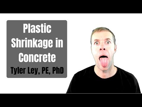 Plastic Shrinkage And Settlement Cracking In Concrete