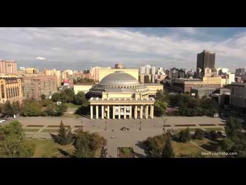 Город Новосибирск, площадь Ленина