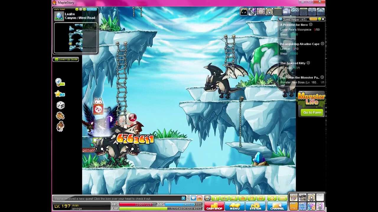 How to find leviathan on maplestory