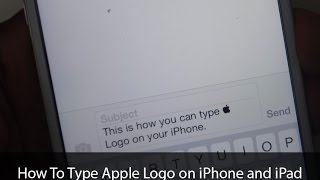 Gambar cover How To Type Apple Logo on iPhone and iPad with Keyboard Shortcut