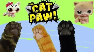 Fun Kitty Cat Paw Joke Gift Toy Review Unboxing Play Pretend Animal Playing