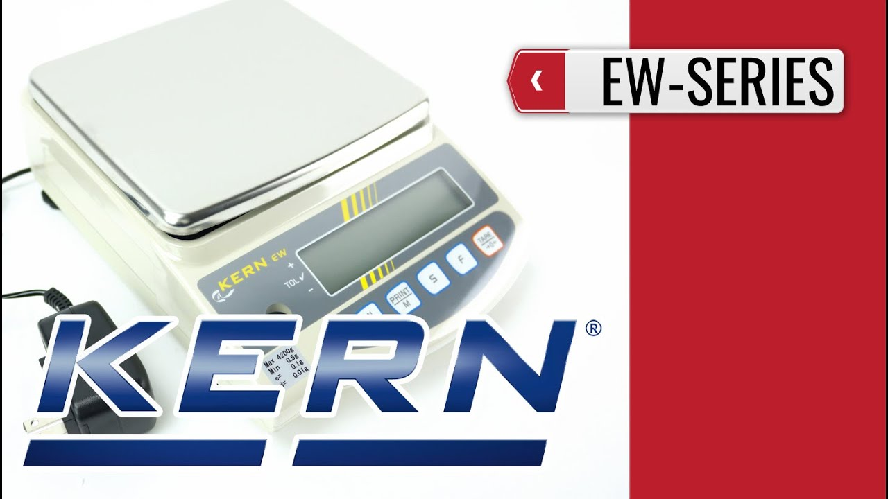 Ew Series Kern Ew Series Precision Balance Product Video Presentation