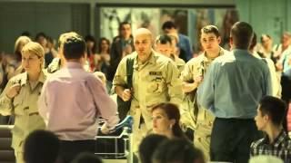Встреча укровояк в аэропорту.