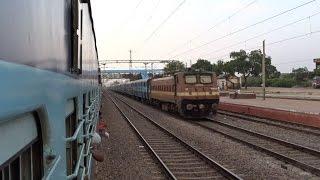 WAP-4 Kerala Skips Datia Chambal Loops Twilight