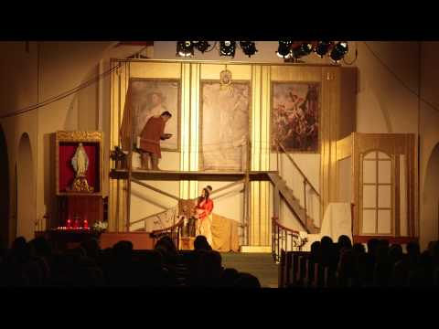 """Tosca """"A Moving Production"""" Pacific Opera Project Saturday September 27, 2014 Act 1"""