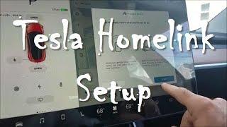 Tesla Homelink Setup - Nick's Model 3 - Day 49