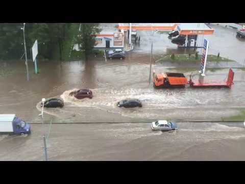 Приморье уходит под воду: наводнение в Уссурийске, размыта