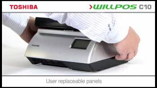 The willpos c10 'all-in-one' touch-screen terminal solution, with integrated printer and fan-less design is ideally suited to most diverse range of marke...