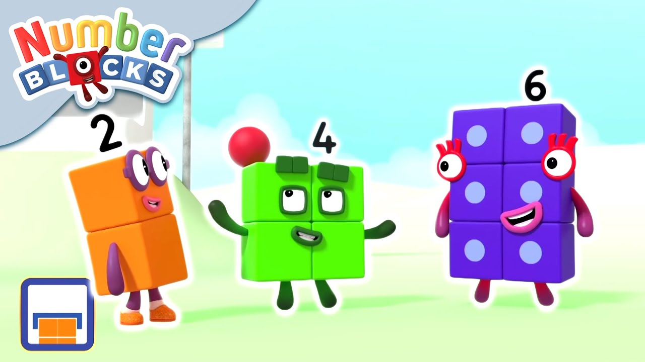 @Numberblocks | Even Tops Club | Numbers Are Everywhere | Educational | Learn to Count
