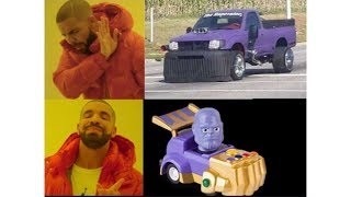 Thanos car memes are here
