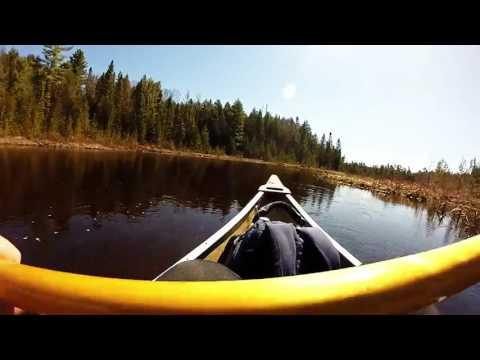 Lost Dog Lake Algonquin Park Canoe/Portage 2016