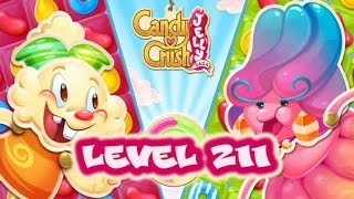 Candy Crush Jelly Saga Level 211 - Jelly Queen