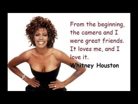 Houston Quotes 2016 | Whitney Houston Quotes And Sayings |  Whitney Houston Quotes