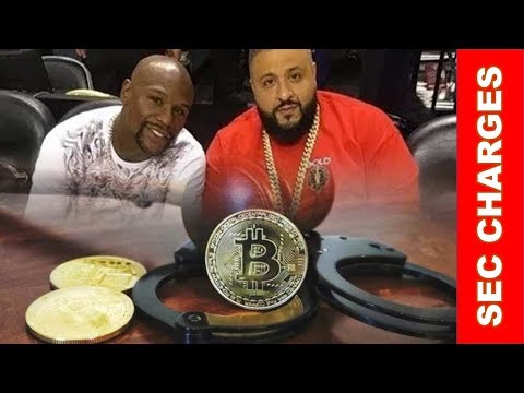 SEC Charges Floyd Mayweather and DJ Khalid With Illegally Promoting ICOs! Markets Take A Breather!