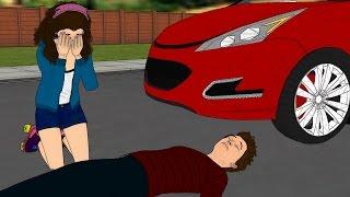Matteo es Atropellado por un Auto ! Luna Llora ! Ep 07