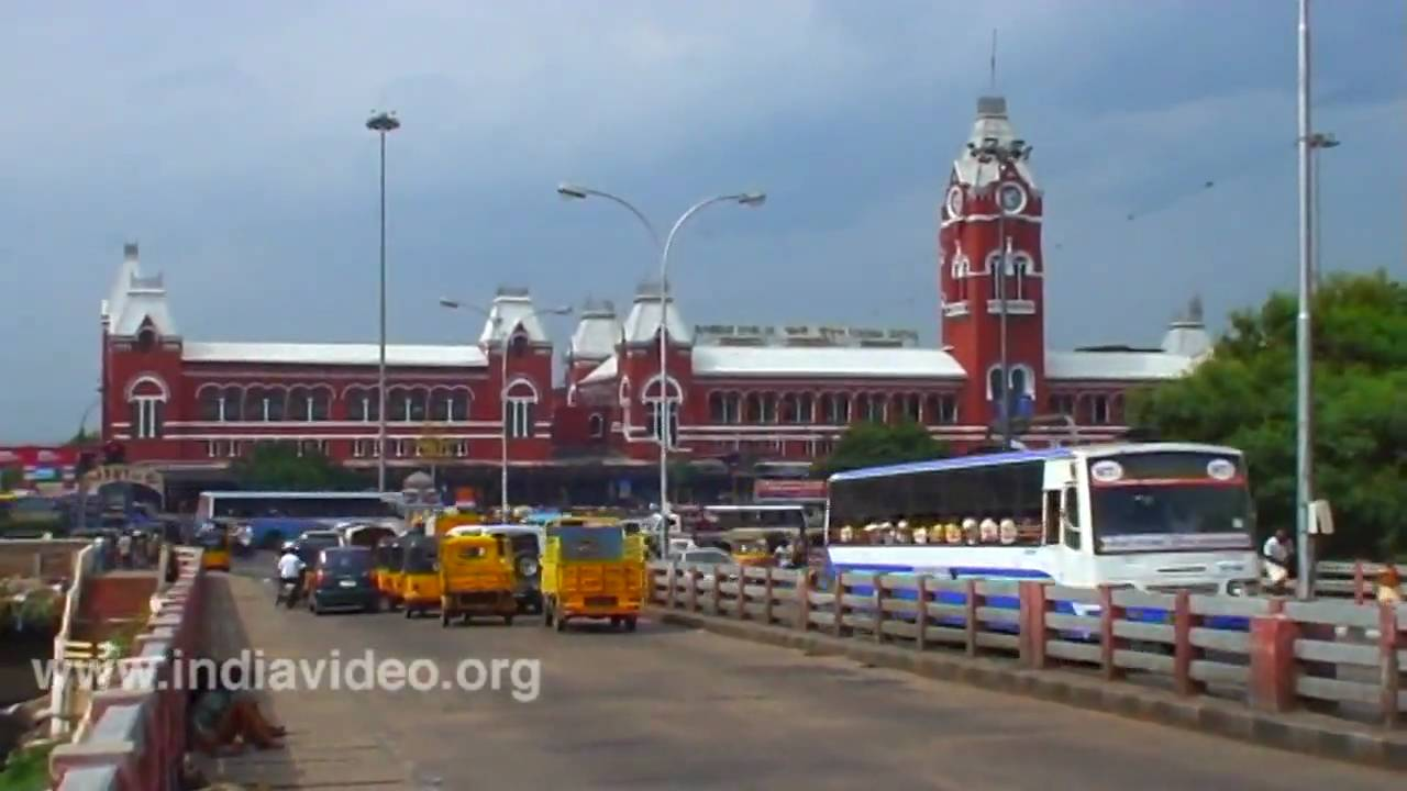 Central Railway Station Chennai Madras Tamil Nadu