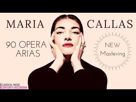 Maria Callas - 90 Opera Arias, Carmen, Norma, Tosca, Traviata, Butterfly.. NEW MASTERING (Ct.rec.)