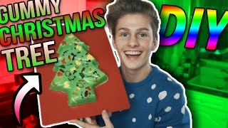 DIY *GIANT* GUMMY CHRISTMAS TREE!!!