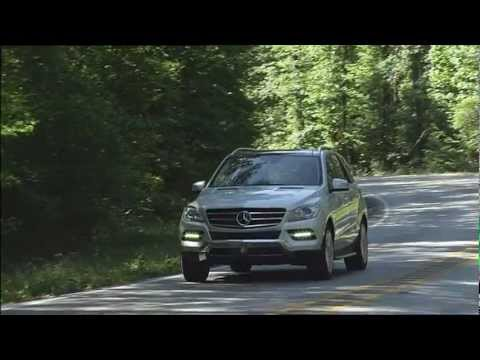 Mercedes Benz The new M Class Press Test Drive ML 350 BlueEFFICIENCY