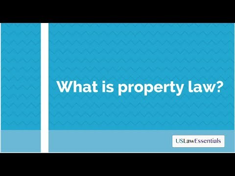 What is property law? (updated)