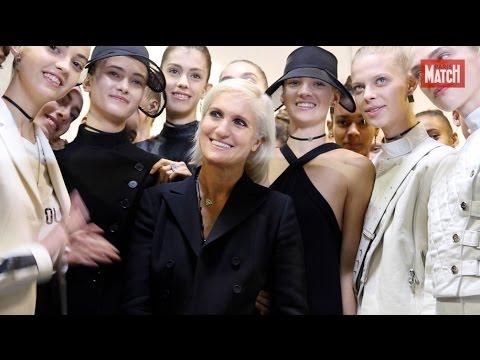 Maria Grazia Chiuri, l'émotion Dior
