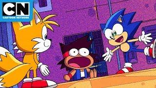 KO Meets Sonic The Hedgehog!   OK K.O.! Let's Be Heroes