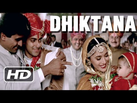 Dhiktana 3 - Superhit Blockbuster Song - Salman Khan, Madhuri Dixit - Hum Aapke Hain Koun