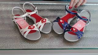 Детские стильные открытые босоножки сандалии на девочку