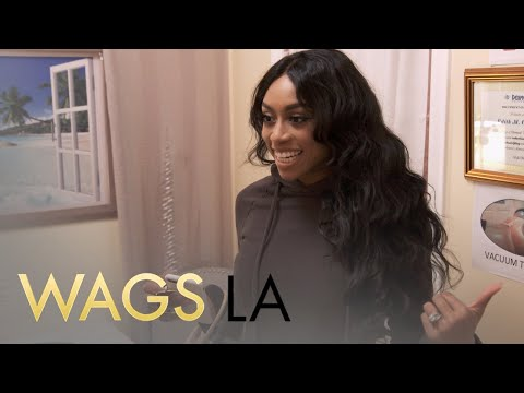 WAGS LA | Autumn Ajirotutu & Barbie Blank Get Vacuum Butt Therapy | E!
