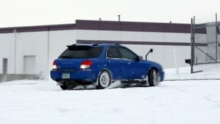 How to drive a Subaru in snow