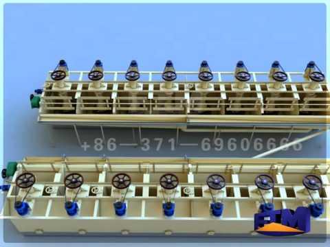Flotation plant  FTM -- 3D Video