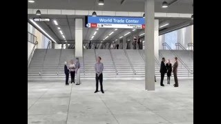The World Trade Center Temporary PATH Station