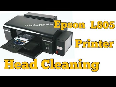 EPSON L850 PRINTER HEAD CLEANING
