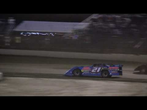 Late Model Sportsman Action   East Bay Raceway Park  32517