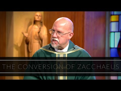 The Conversion of Zacchaeus | Homily: Father Paul Ring