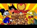 Richest Cartoon Characters Who Are Living The Dream
