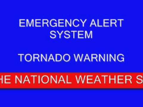 EAS Mock #4- Tornado Warning/Severe Weather Statement