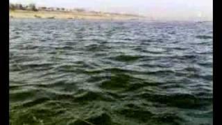 ganga river sangam allahabad.mp4