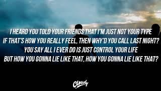 NF LIE Lyrics Video