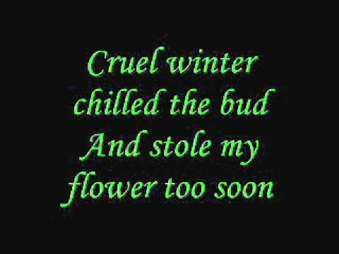 Annie Lennox- Love Song for a Vampire [lyrics]