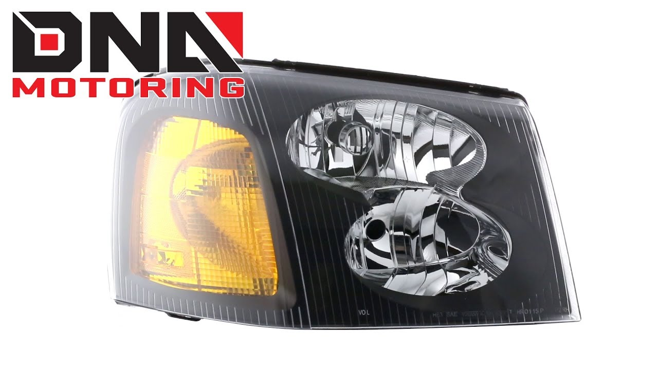 DNA MOTORING HL-HPL-CTR02-BK-AM Headlight Assembly Driver and Passenger Side