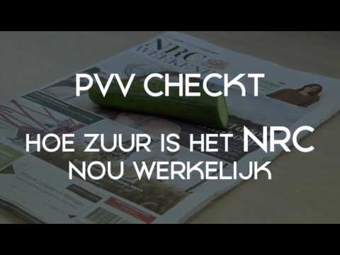 PVV checkt: hoe zuur is het NRC?