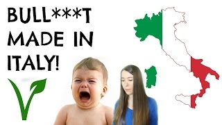 Hospitalized Vegan Kids Epidemic in Italy || An Italian Response