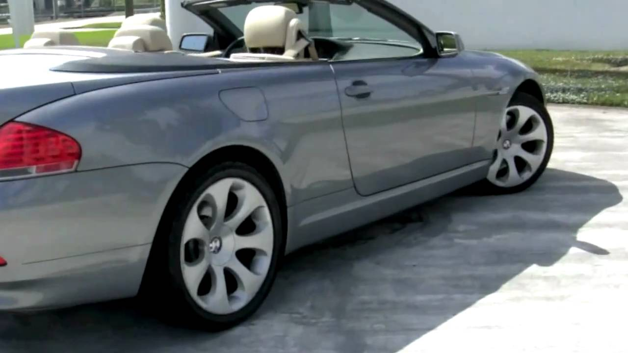Coupe Series bmw 645 convertible 2005 BMW 645Ci Convertible - YouTube