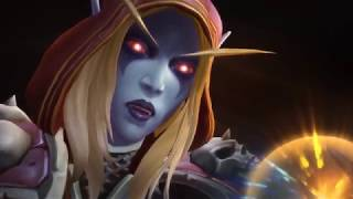 World of Warcraft Legion Ending Cinematic - Horde Epilogue Cinematic |  WoW Legion Patch 7.3.5 - 7.4