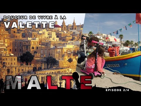 Visit Valletta in Malta - European capital of culture 2018 with the family travel series